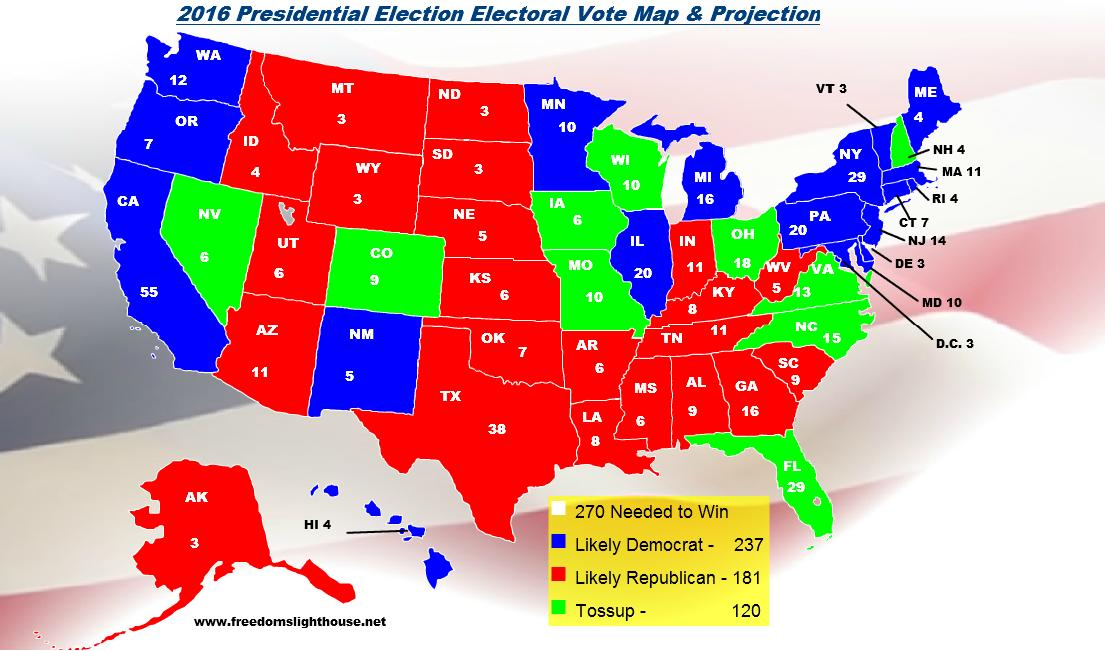 Final Electoral College Map Business Insider 2016 Presidential